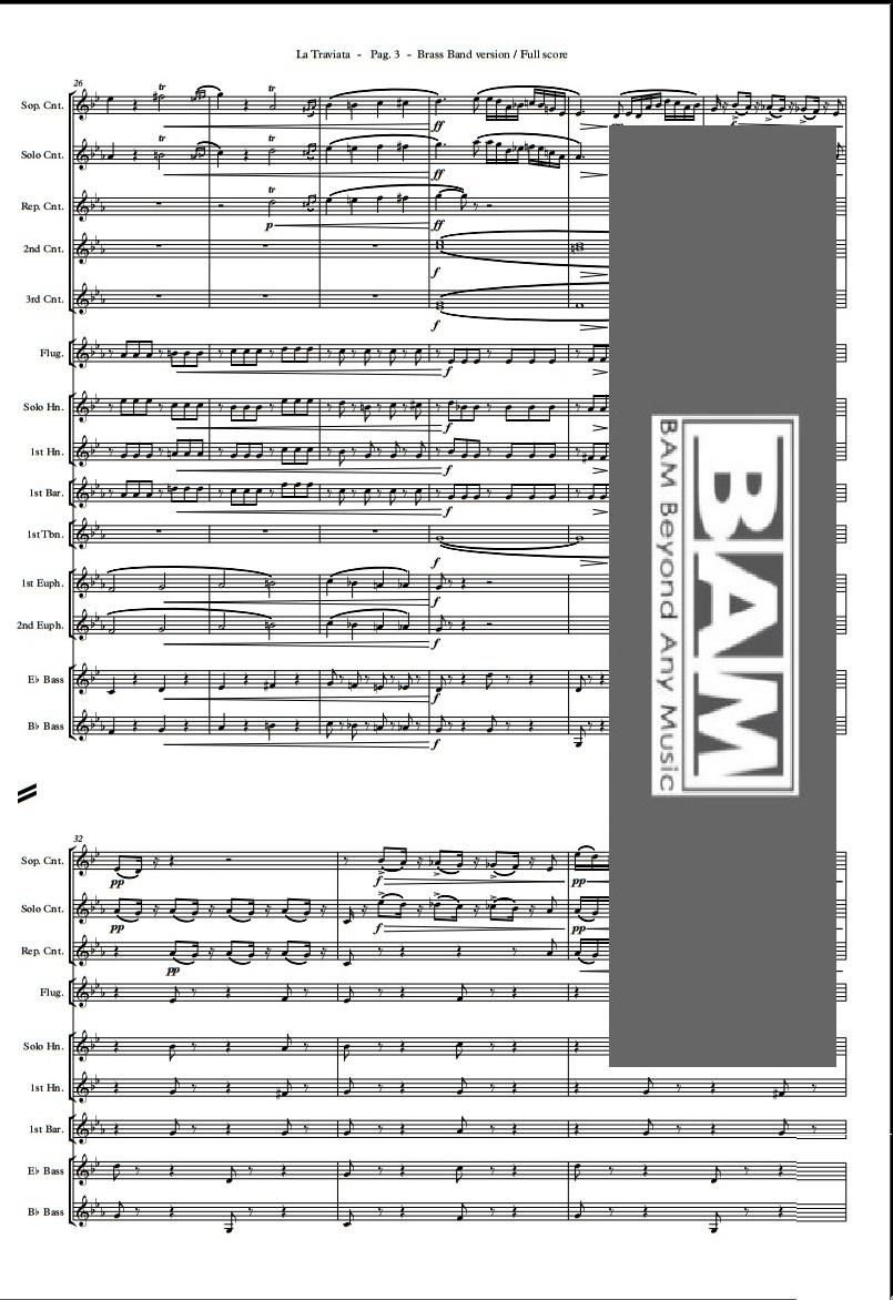 Verdi's Overture di Italian Brass Band