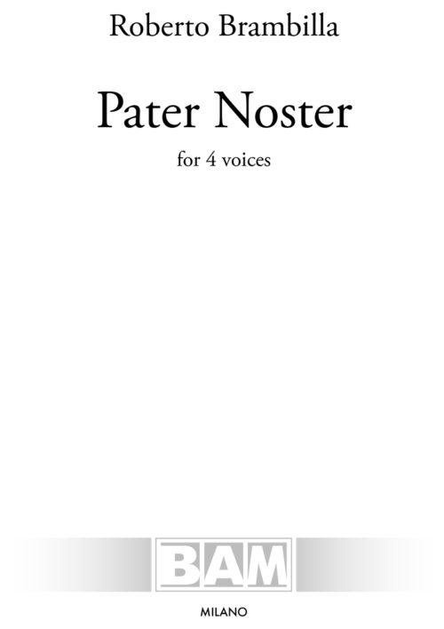 Brambilla_Pater-Noster_Cover