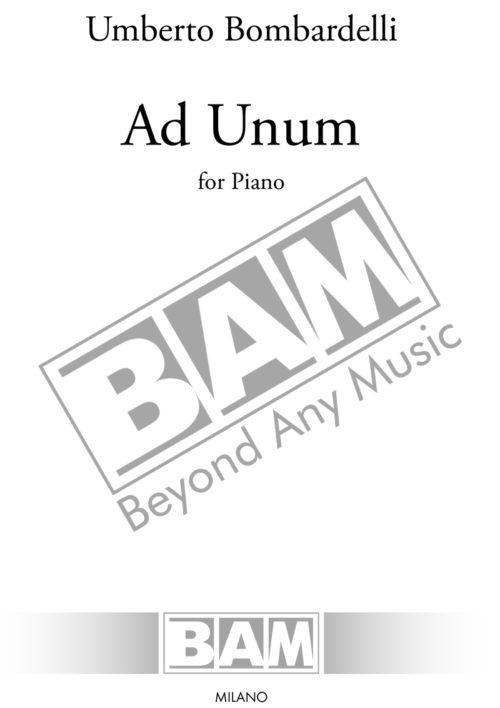 Bombardelli-Ad-Unum_Cover