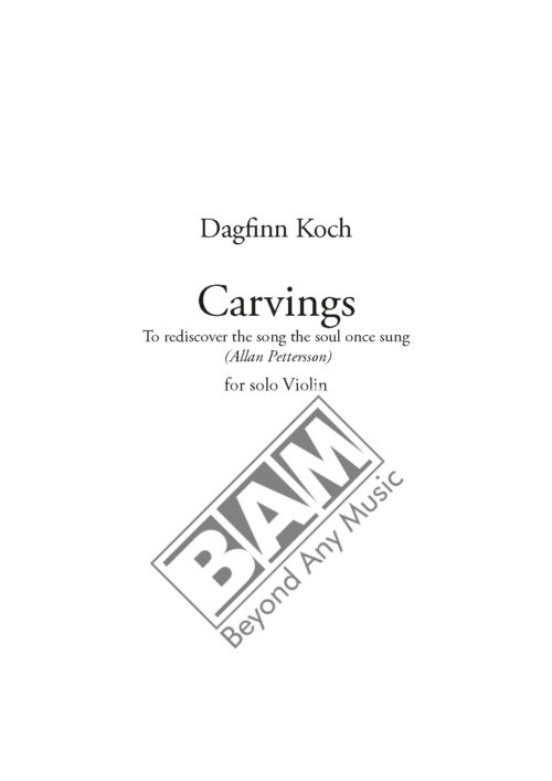 KOCH - CARVINGS - SCORE_Pagina_1