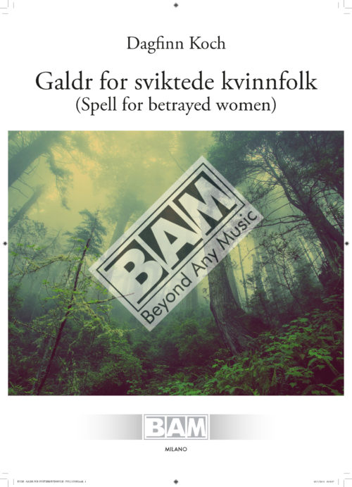 KOCH - GALDR FOR SVIKTEDE KVINNFOLK - FULL SCORE_Pagina_01