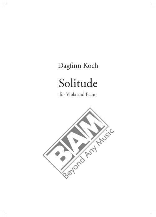 KOCH - SOLITUDE - SCORE_Pagina_1
