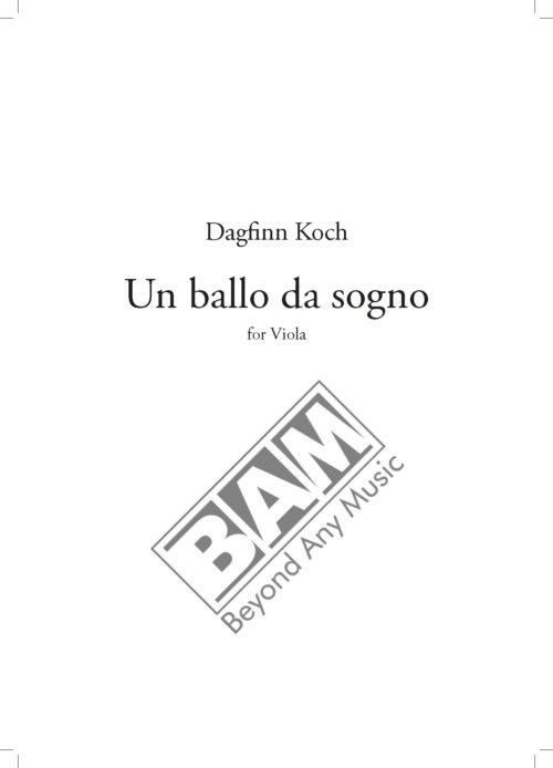 KOCH - UN BALLO DA SOGNO - SCORE_Pagina_1