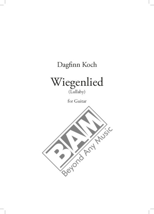 KOCH - WIEGENLIED - SCORE_Pagina_1