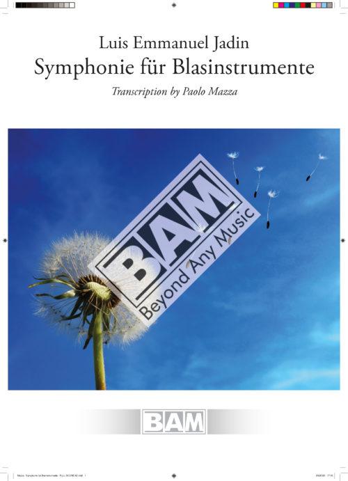 Mazza - Symphonie fur Blasinstrumente - FULL SCORE A3_Pagina_01