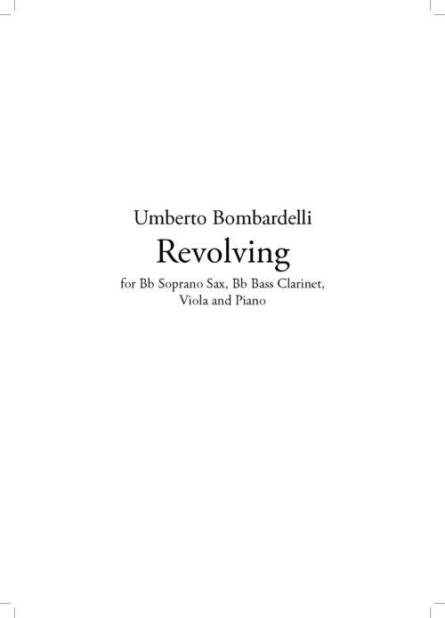 Bombardelli-REVOLVING_Score_Pagina_01