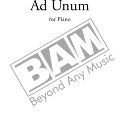 Umberto Bombardelli - Ad Unum Cover