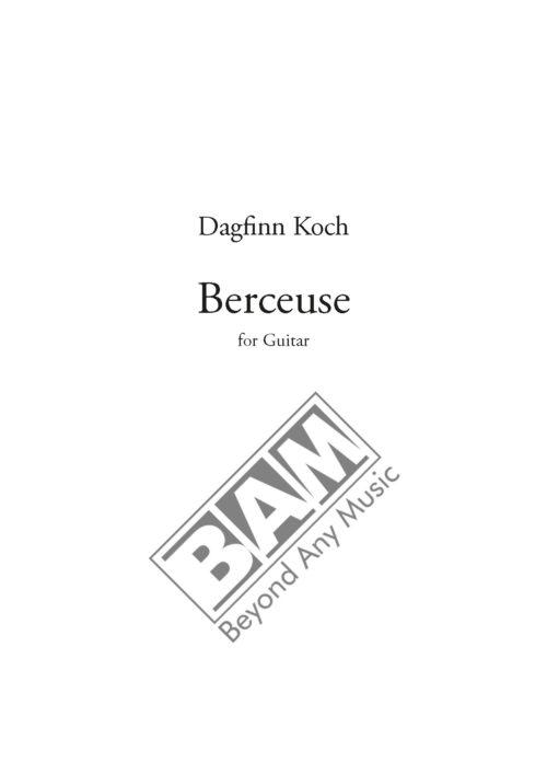 KOCH - BERCEUSE - SCORE_Pagina_1