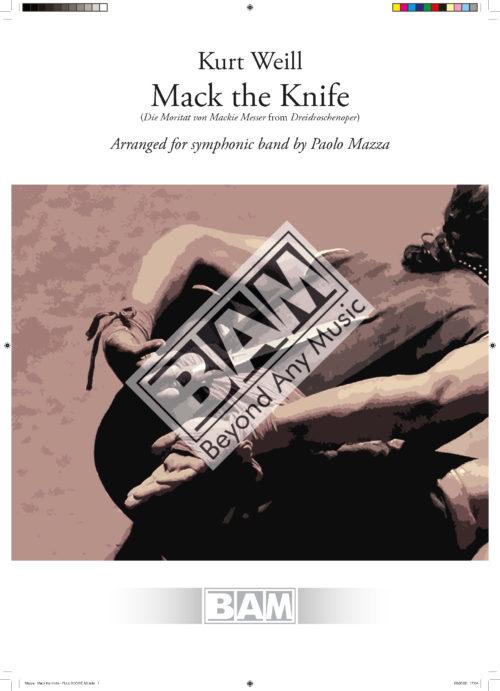 Mazza - Mack the Knife - FULL SCORE A3_Pagina_01